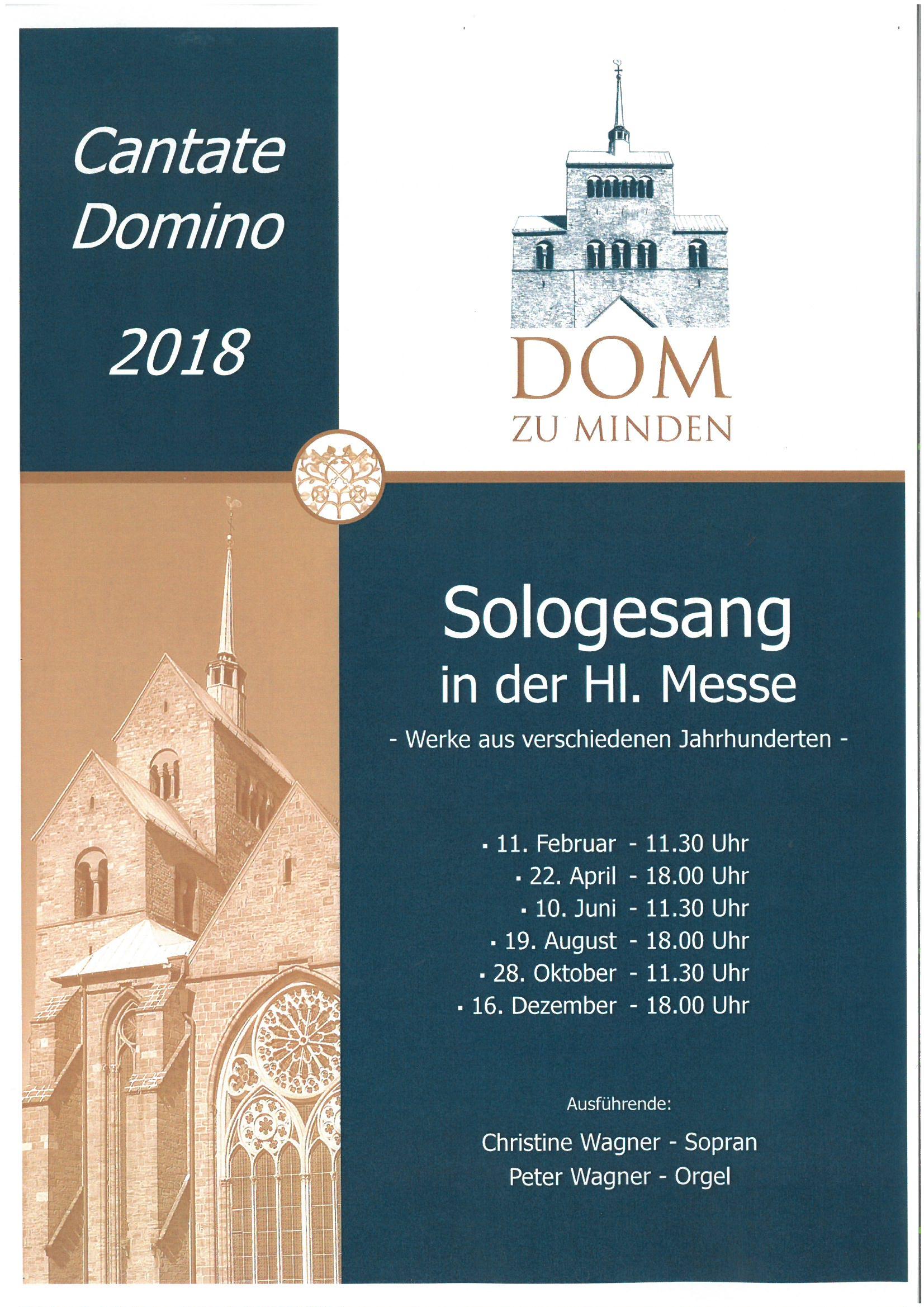 Cantate Domino 2018