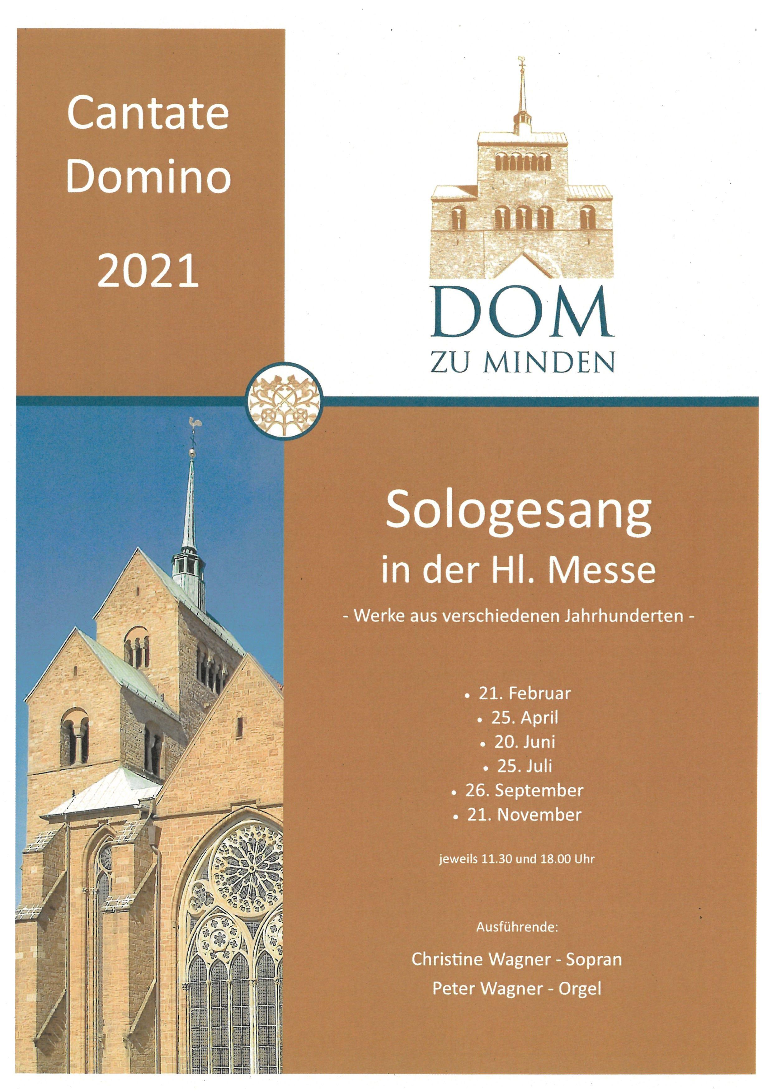 Cantate Domino 2021